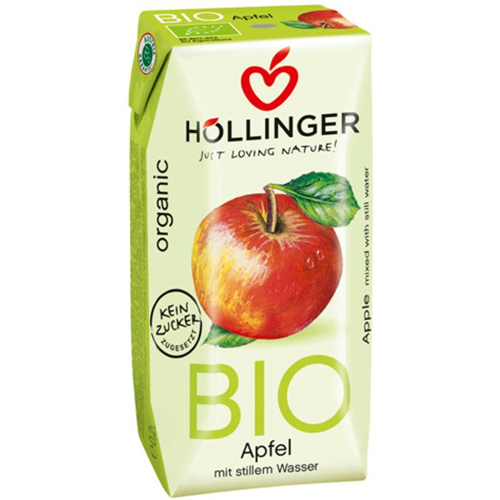Suc de poma 3x200ml Hollinger