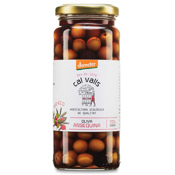 Olives Arbequina 350g CAL VALLS