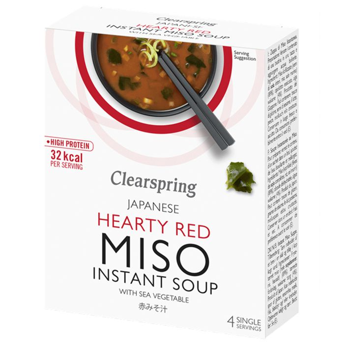 Sopa MISO PICANT instant 4X10g CLEARSPRING